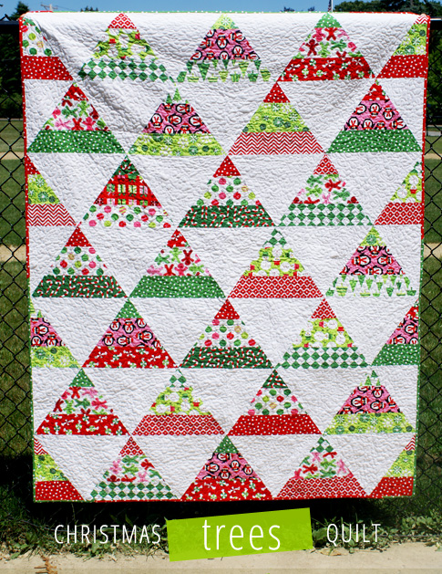 12 Free Modern Christmas Quilt Patterns Wow I Like That